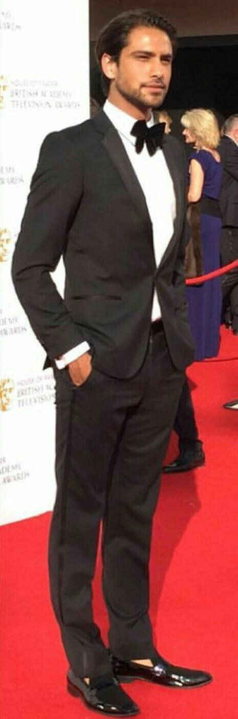 Luke at the 2016 BAFTA's