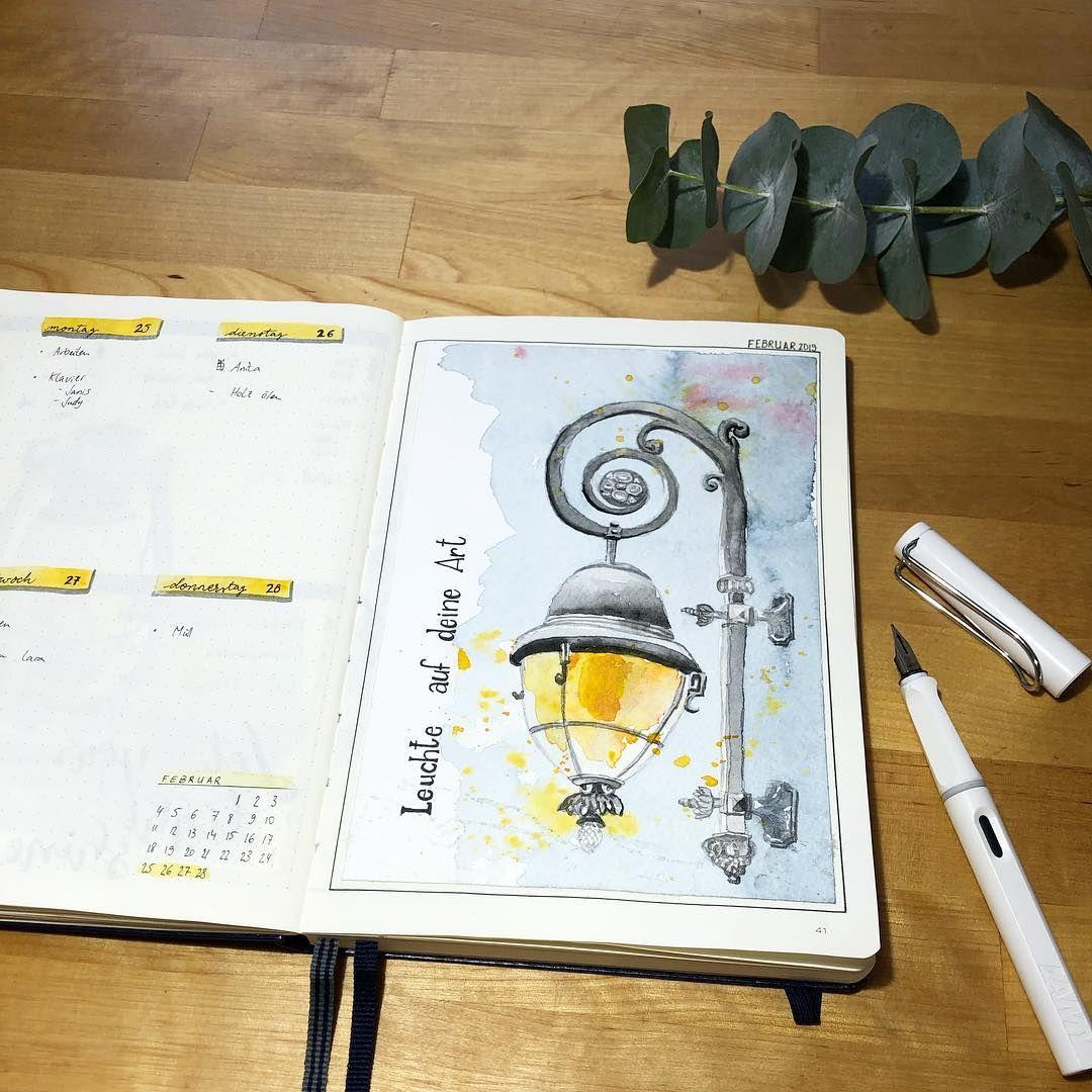 Leuchte Auf D E I N E Art Es Gibt So Viele Verschiedene Lampen Lichter Laternen Manche Stehen An Stark Frequ Bullet Journal Bullet Journal Vorlage Journal