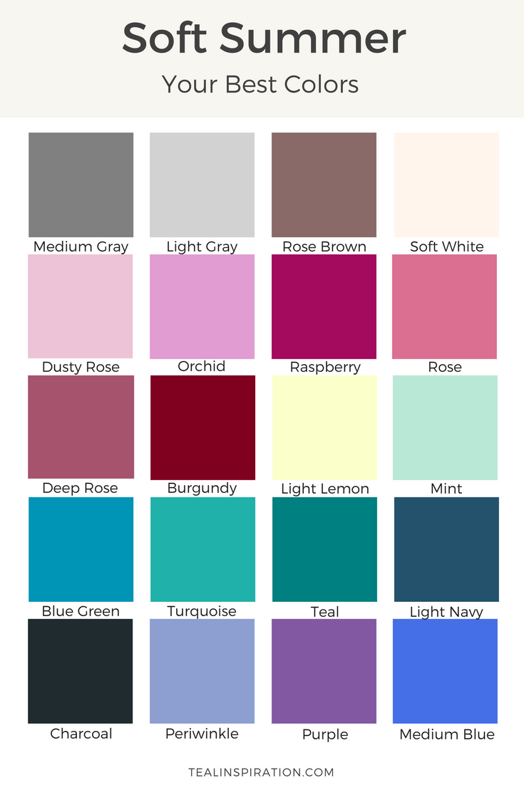 Summer Palette 2018: How To Find Your Best Colors