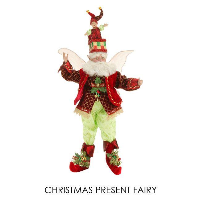 "Christmas Present Fairy, Med 19"", 51-27846 - $125"