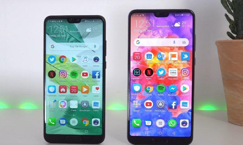Zwei Starke Huawei Smartphones Im Vergleich Handyvertrag Smartphone Handy