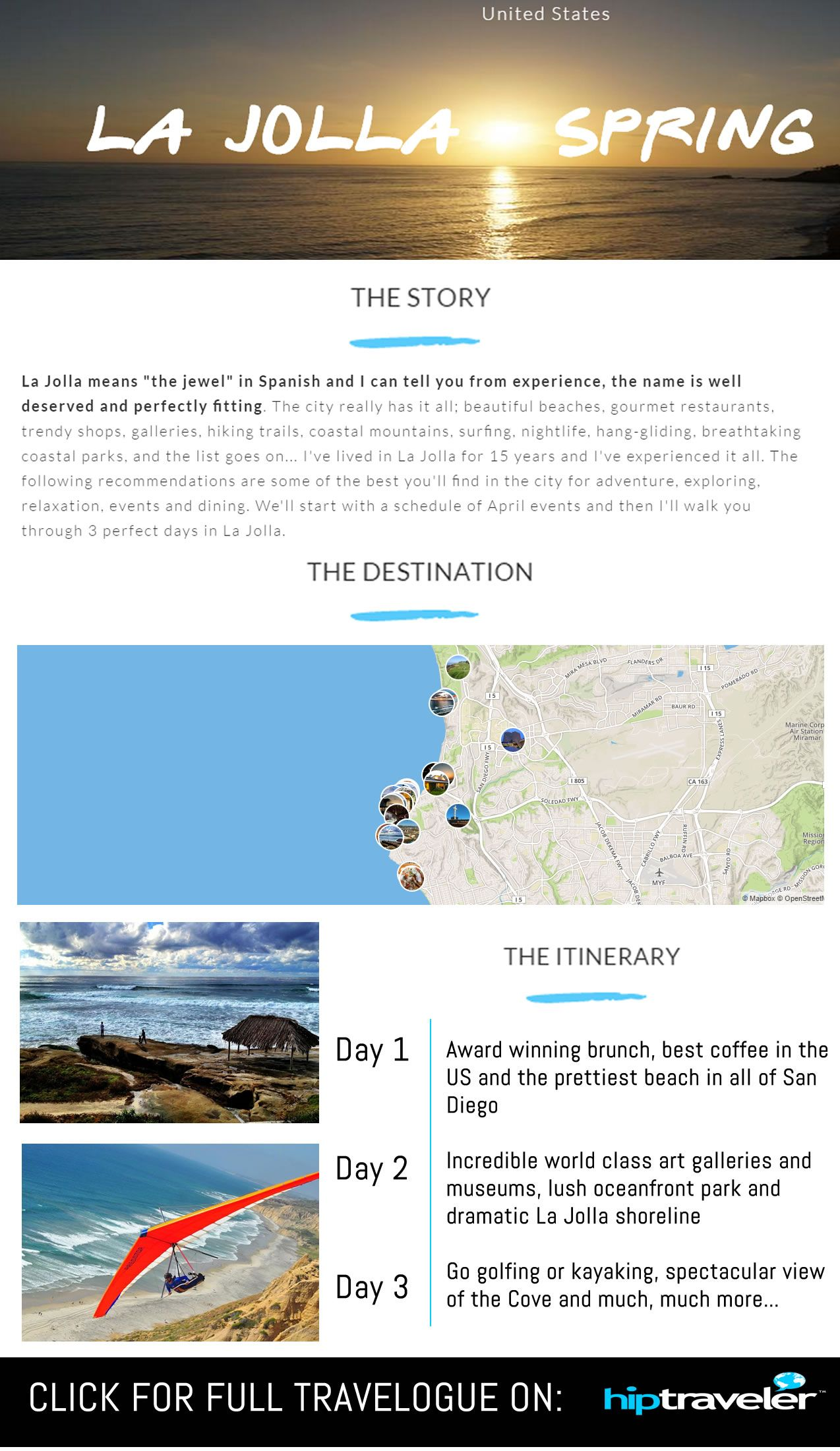The following are some of the most incredible attractions, restaurants, and of course accommodations that La Jolla, California has to offer | by HipTraveler