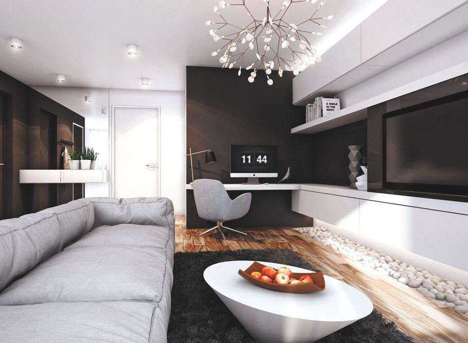 Modern and functional apartment in Samara, Russia « Adelto Adelto - küche günstig zusammenstellen