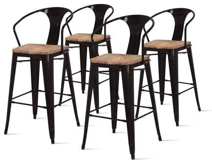 Phenomenal Home Products Bar Stools Bar Black Bar Stools Caraccident5 Cool Chair Designs And Ideas Caraccident5Info