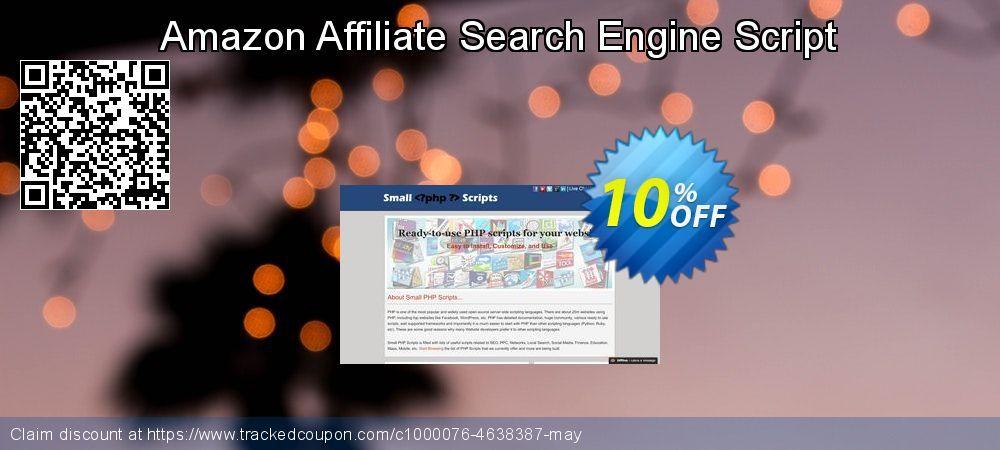 10 Off Amazon Affiliate Search Engine Script Promo Coupon Code