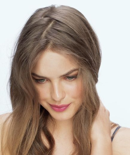 5 Fresh Ways To Part Your Hair Vintage Hairstyles Hair Styles Parting Hair