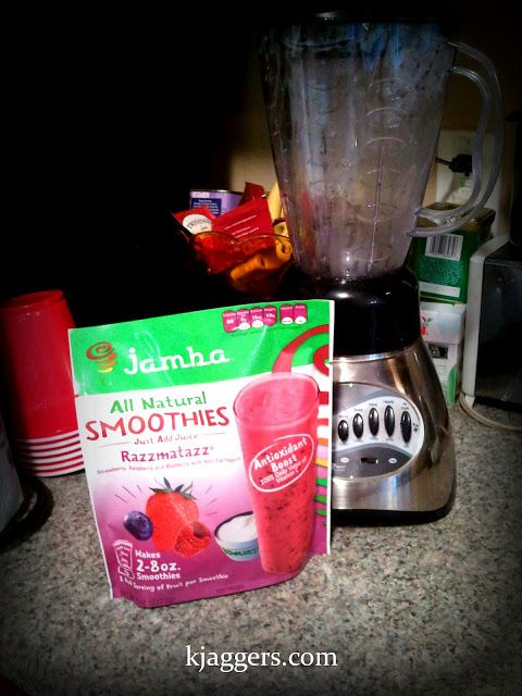 Review : Jamba All Natural RAZZMATAZZ Smoothie Mix ~ The Glamorous French Housewife