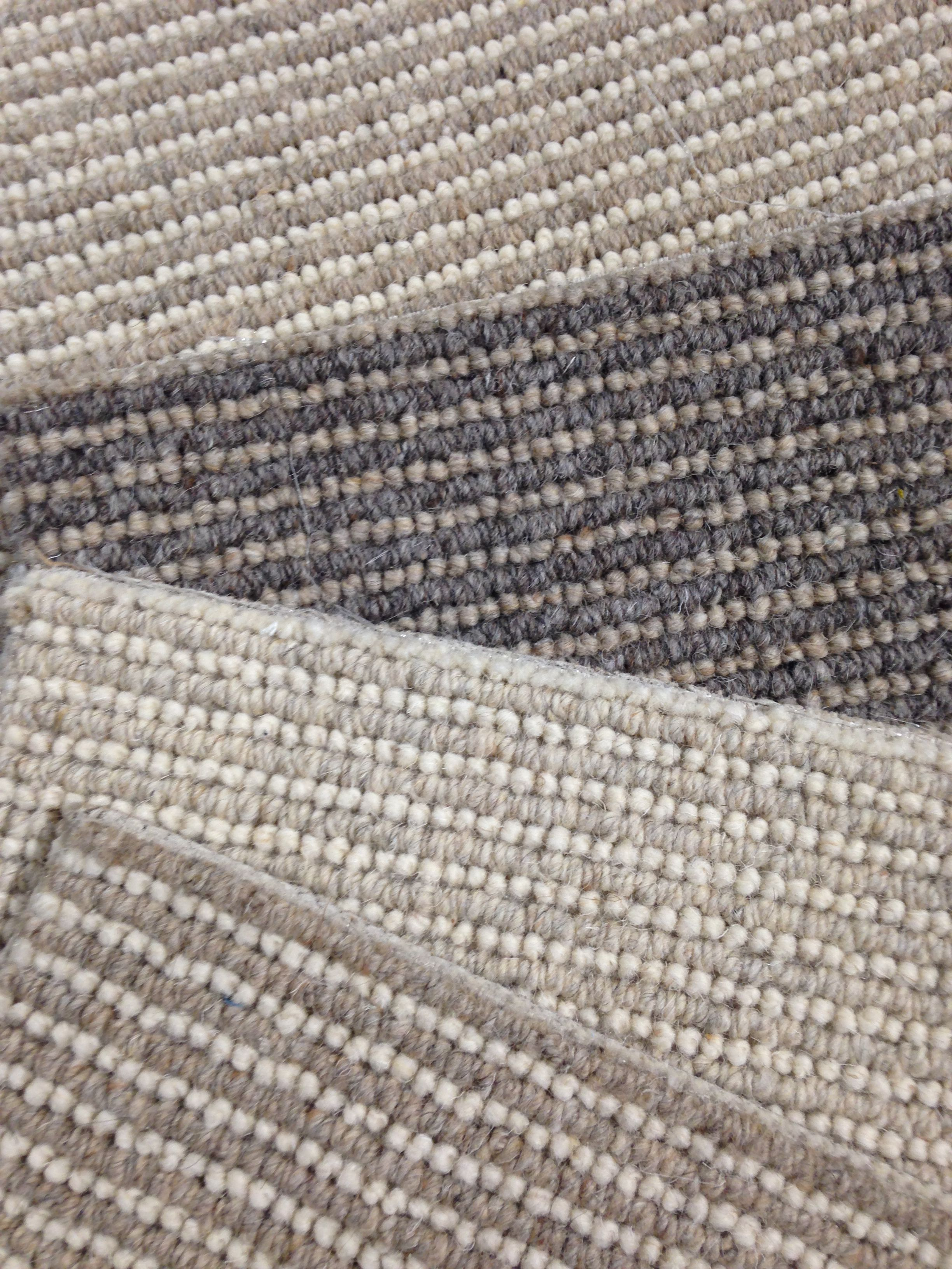 Just arrived great looking textured wool loop carpet can for Area carpets and rugs