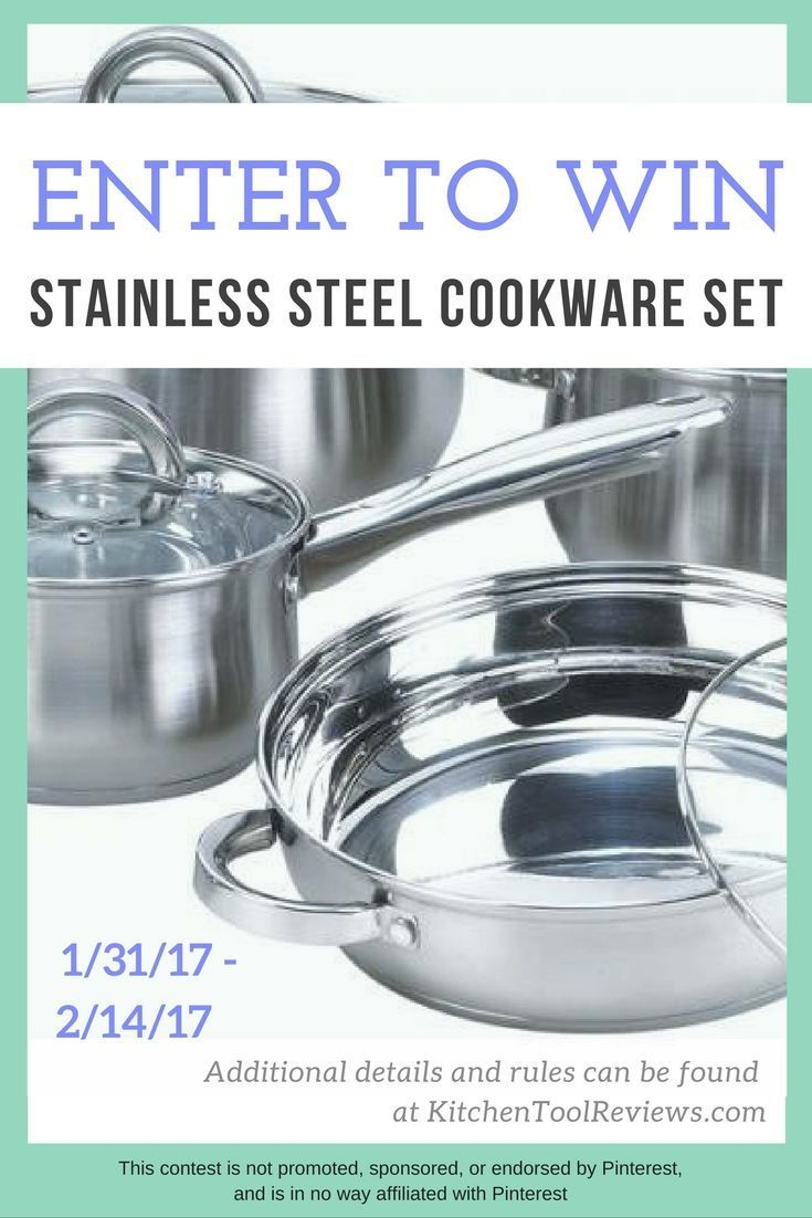 Giveaways cookware set giveaway