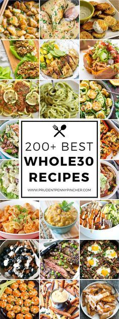 200 Best Whole30 Recipes #whole30recipes