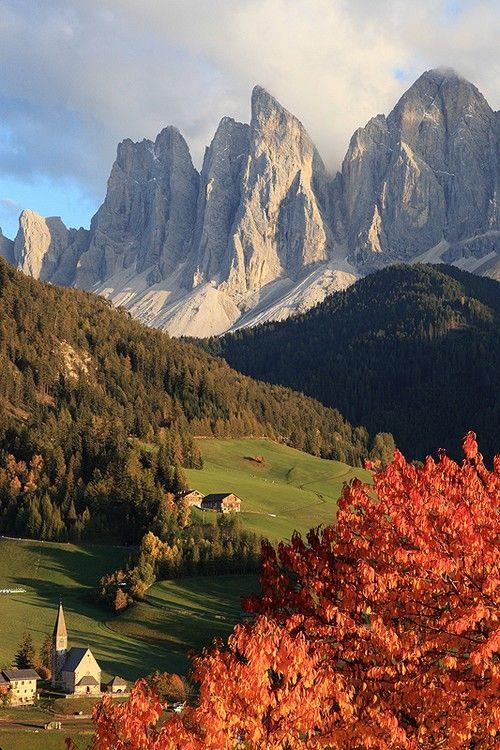 wonderous-world: The Dolomites, Italy by Rico Bolzano Trentino Alto Adige