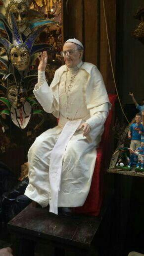 Wax Pope - Napoli