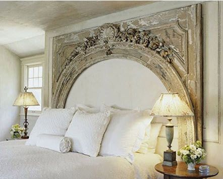 architectural headboard {swoon}