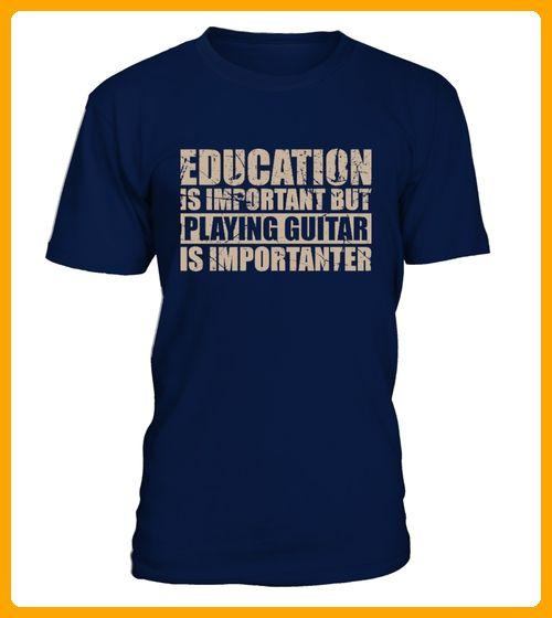 Playing guitar is importanter - Hip hop shirts (*Partner-Link)