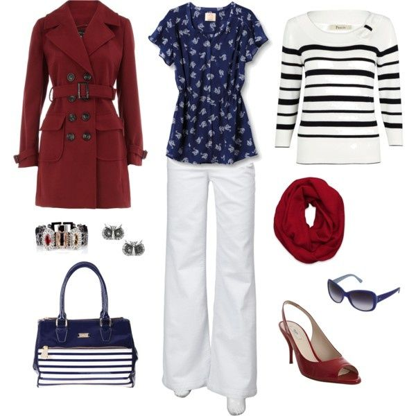 Red White and Blue Fashion   Red, White, and Blue