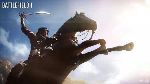 Battlefield 1 -Mounted combat