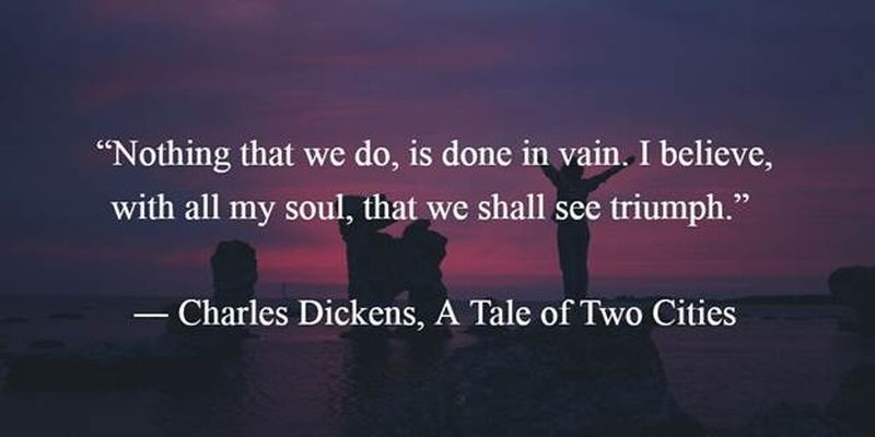 25 Most Famous A Tale Of Two Cities Quotes By Charles Dickens