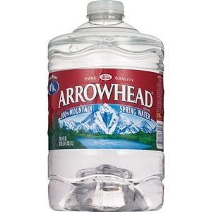 Arrowhead 100% Mountain Spring Water Plastic Jug, 101.4 OZ #plasticjugs Arrowhead 100% Mountain Spring Water Plastic Jug, 101.4 OZ #plasticjugs