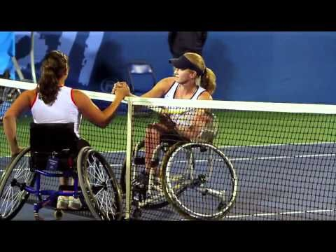 Wheelchair tennis player Mackenzie Soldan talks us through last year's gold-medal match