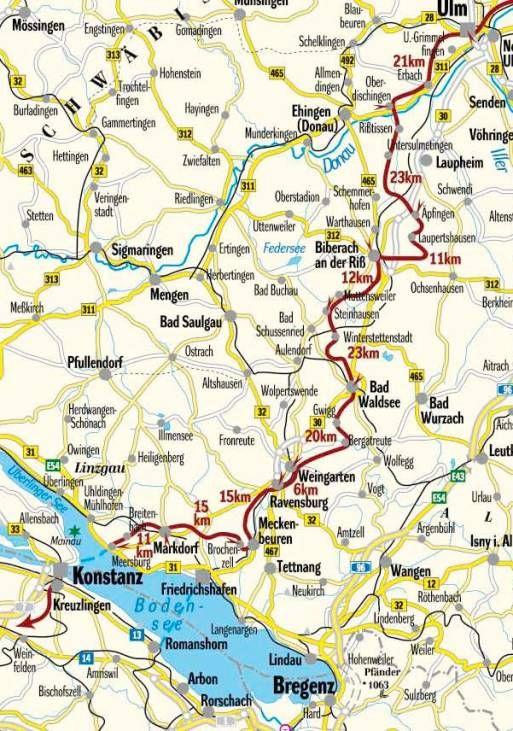 Ulm - Kontanz (Baden-Württemberg)