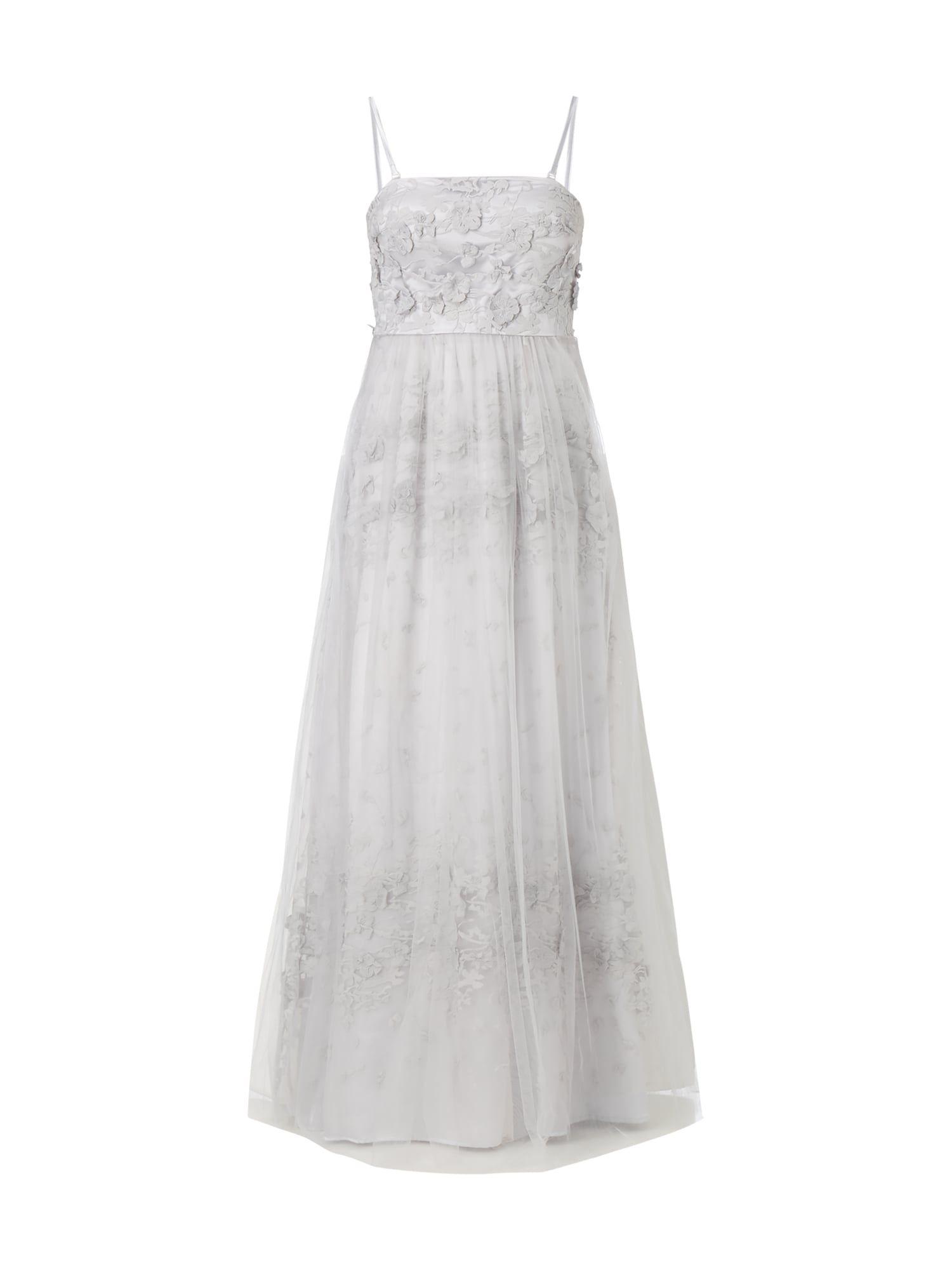Young Couture - Abendkleid mit floralen Applikationen ...