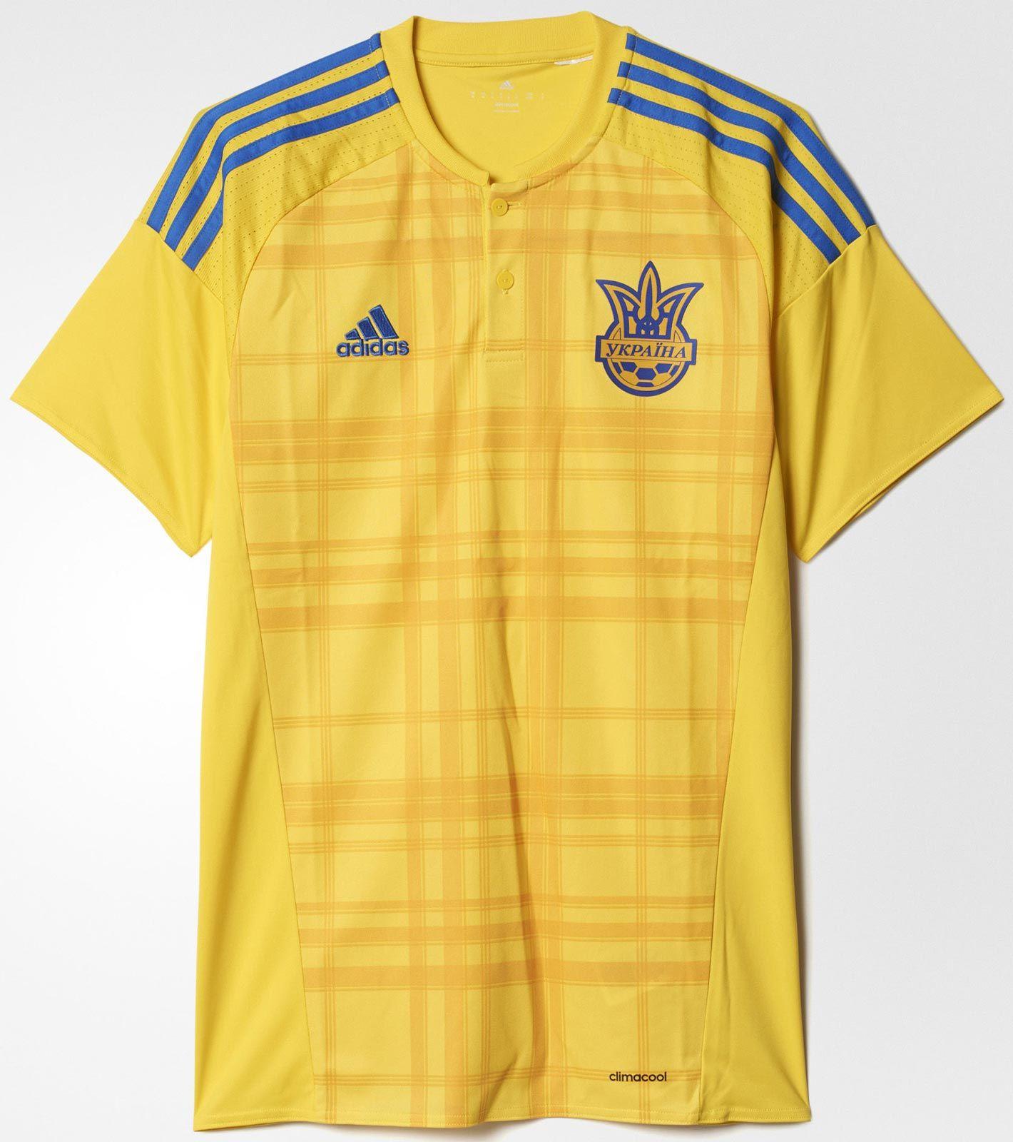 Primera camiseta de tailandia Ucrania Euro 2016