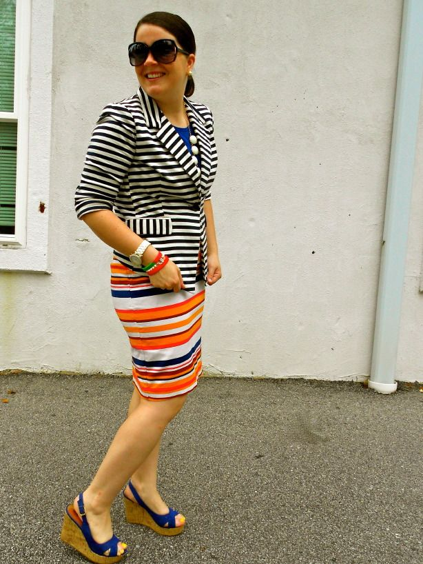 still being molly: pattern mixing - STRIPES!