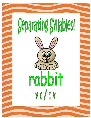 Separating+Syllables!+++VC\/CV+Words+from+Essential+Reading+\/+ - cv words