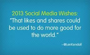 Social media wishes