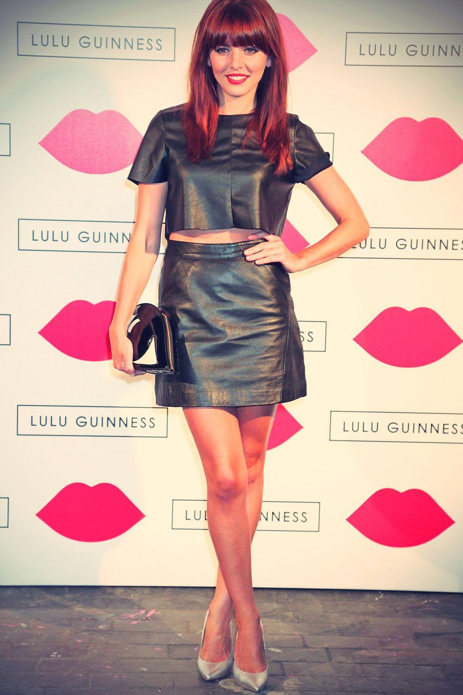 Ophelia Lovibond sexy in leather | Ophelia Lovibond ...