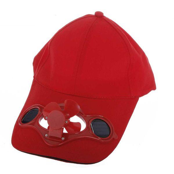 7e7fa3741b4 Summer Sport Outdoor Hat Cap with Solar Sun Power Cool Fan For Golf Baseball