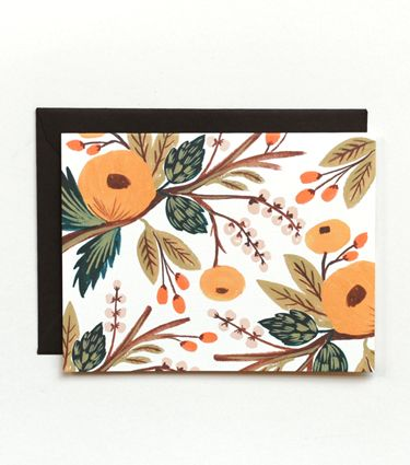 Marigold Blooms Card- basically I love anything by the Rifle Paper Co.