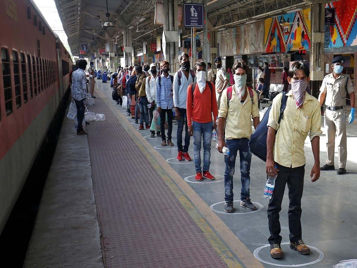125 special trains take 1.2L stranded home in 2020 India