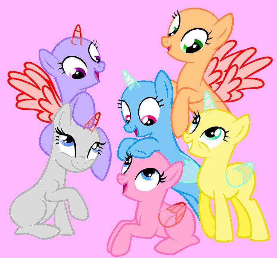 Group Base By Saramanda101 Deviantart Com On Deviantart My Little Pony Drawing Mlp Base Mlp Pony
