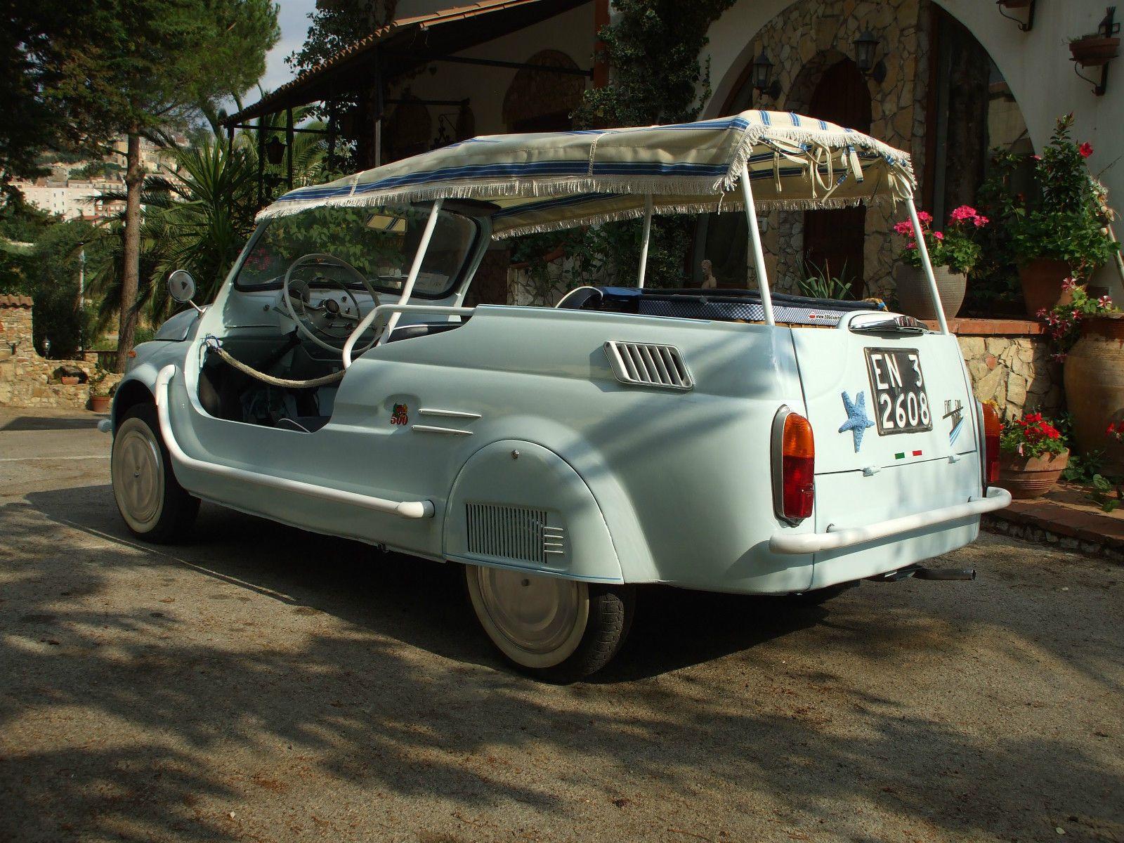 71 Fiat 120 Nuova 500 Giardiniera Spiaggina Jolly With Images