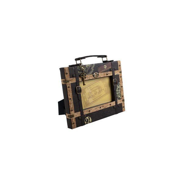 Hogwarts Express Luggage Photo Frame (780 UYU) ❤ liked on Polyvore ...