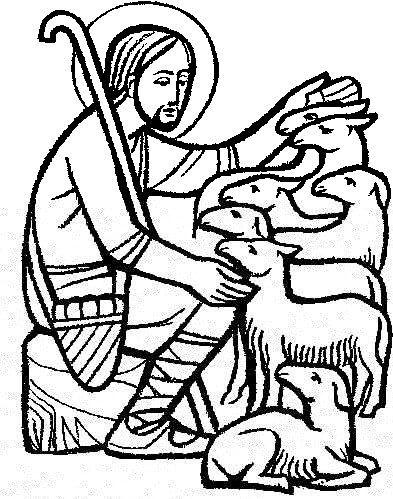Good Shepherd Clip Art Images Pictures Becuo The Good Shepherd Christian Artwork Bible Verse Art