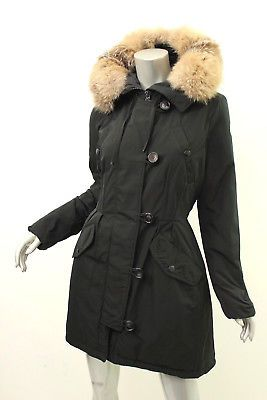 68ffbafc6 MONCLER Black Arriette Fox Fur-Trim Puffer Coat 4 $2210 | Women's ...