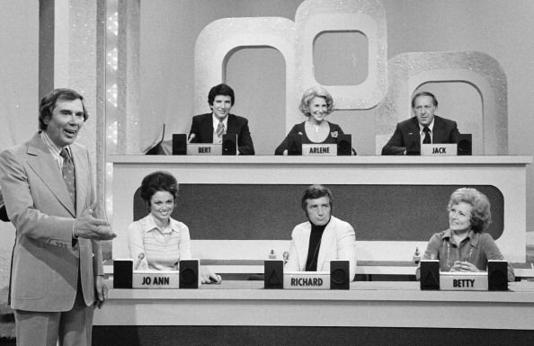 Match Game with Gene Rayburn. Some of the regulars were