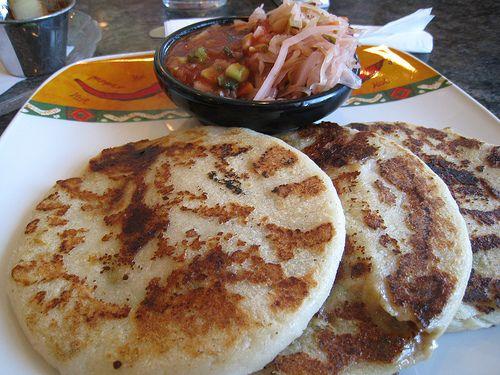 Cocina f cil y sana receta saludable de pupusas plato - Comidas sanas y bajas en calorias ...
