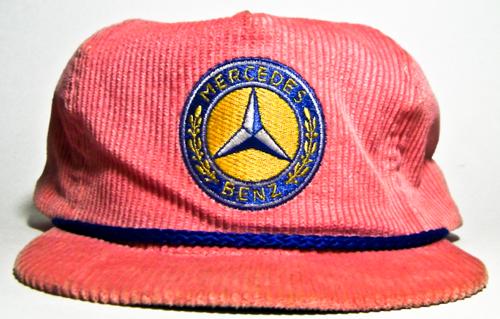 Vintage Mercedes Benz Hat  84a4f7a8d435