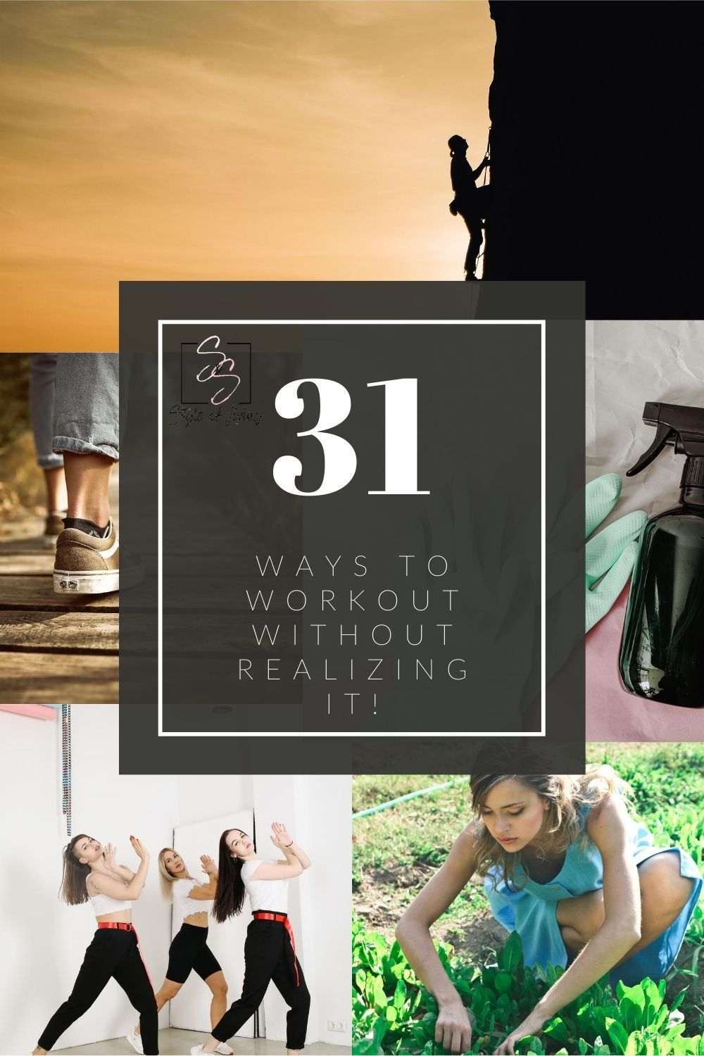 Are you feeling unmotivated and have zero desire to workout? Did you know there are so many ways to get your fitness in WITHOUT doing traditional exercise? FIND OUT HOW! #stayingactive #funfitness #easyexercise #healthylifestyle #workoutathome #athomegym