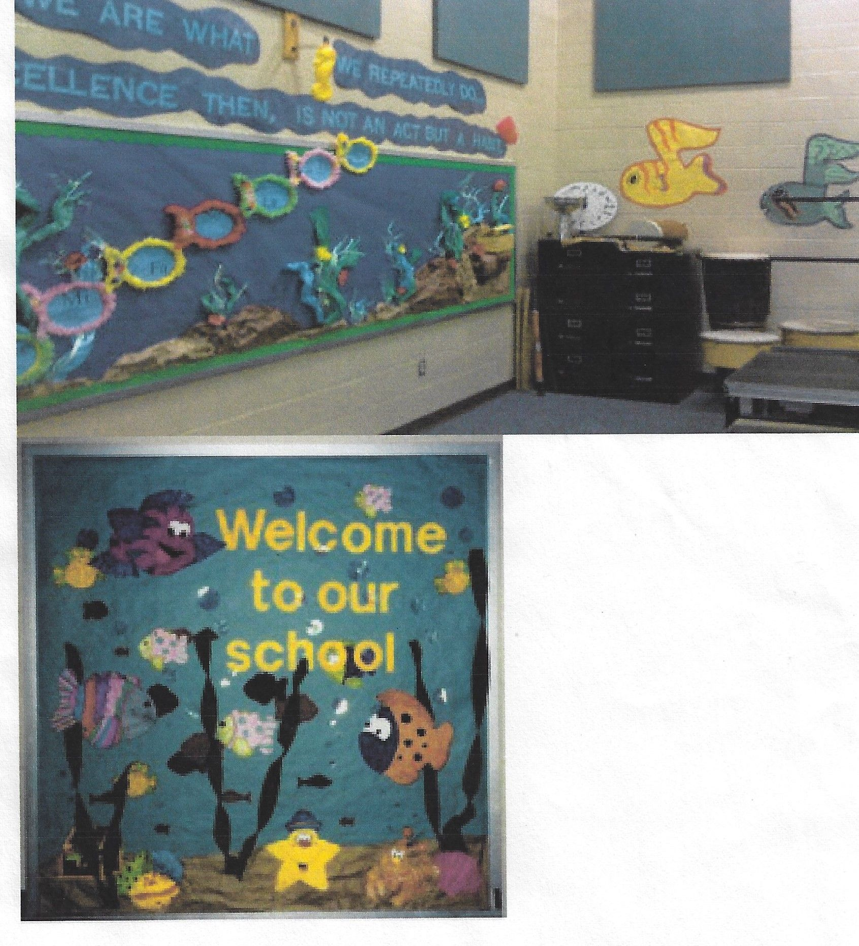 Pin By Guylaine Labbe On Ocean Under The Sea Theme Crafts