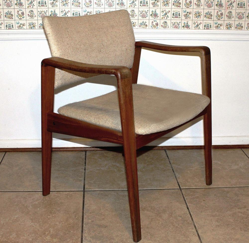 Awe Inspiring Arne Wahl Iversen Danish Mid Century Modern Vintage Komfort Pabps2019 Chair Design Images Pabps2019Com