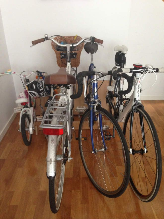 Bikerax Bicycle Rack With 2 Kids Bikes And 3 Adult Bikes Made In