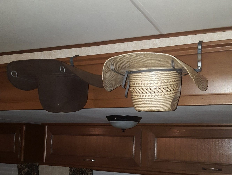 Metal Cowboy Hat Rack For A Trailer Cowboy Hat Rack Home N Decor Cowboy Hats