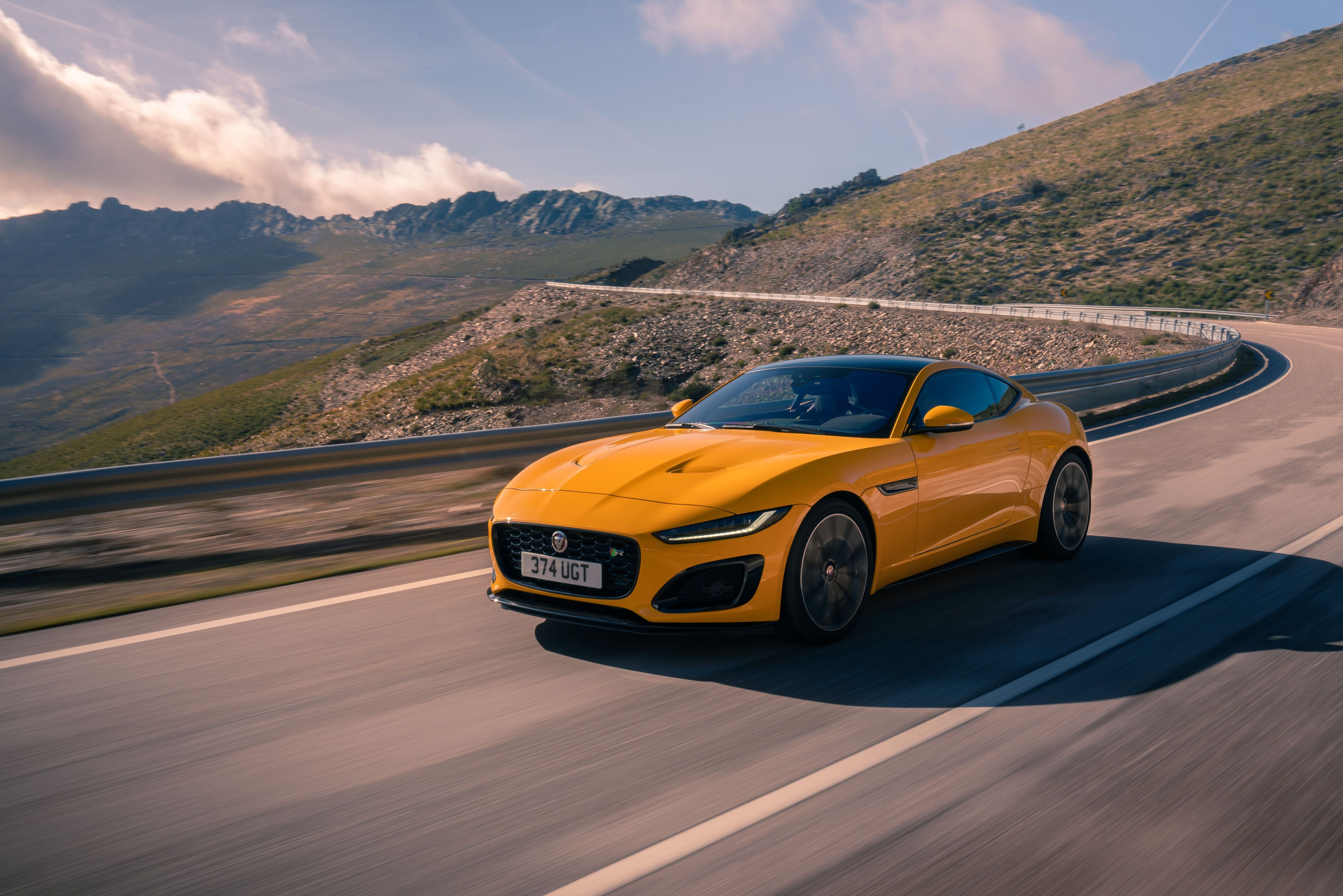 First Drive In The New 103 200 Jaguar F Type In 2020 Jaguar F Type Jaguar Sport Sports Cars Bugatti