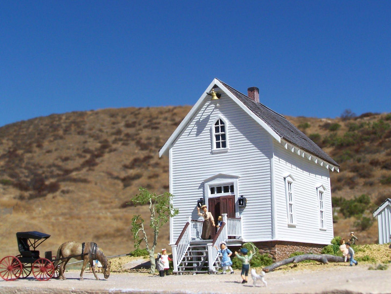 Walnut Grove School House Little House On The