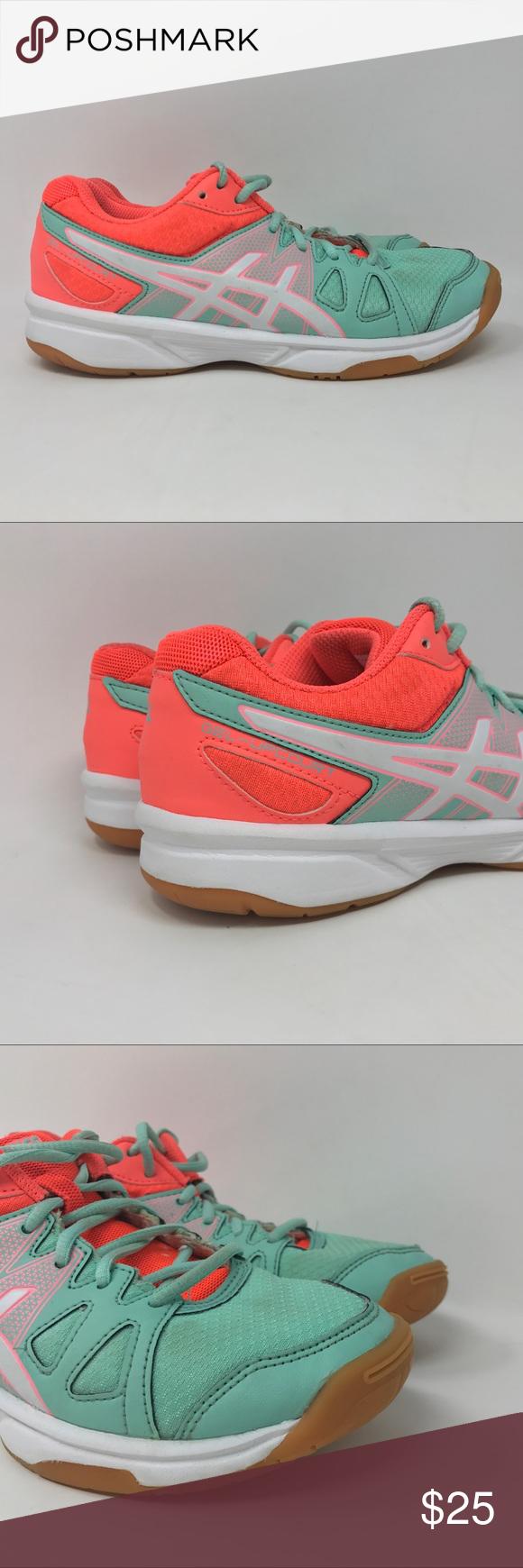 Asics Gel Upcourt Volleyball Shoes Womens 3 5 D25 Volleyball Shoes Women Shoes Shoes