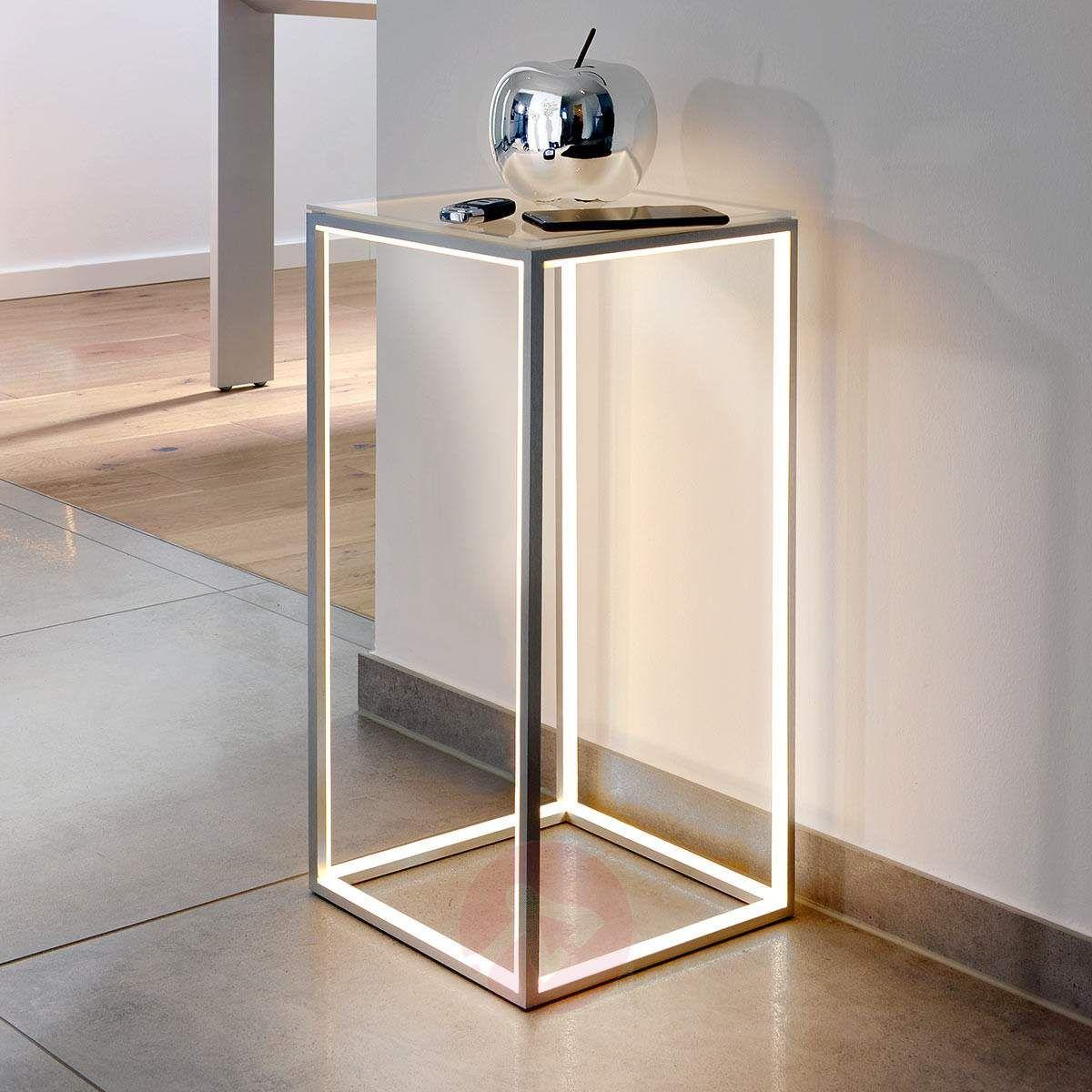 Moderne Stehlampe Delux Von Sompex Grau Kleiner